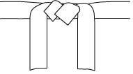 ... ceinture maîtresse » qui n est attribuée qu a Jigoro Kano (12ème),  fondateur du judo. La couleur blanche de la ceinture symbolise le fait que  celui qui ... b52aa754890